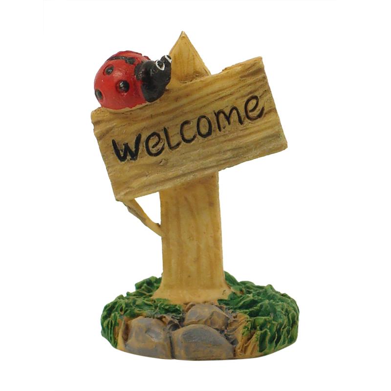 Mini Welcome Sign - Ladybug