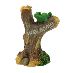 Mini Welcome Sign - Frog