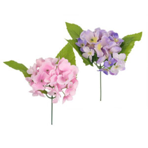 Silk Flower Sprigs - Pink & Purple Assorted