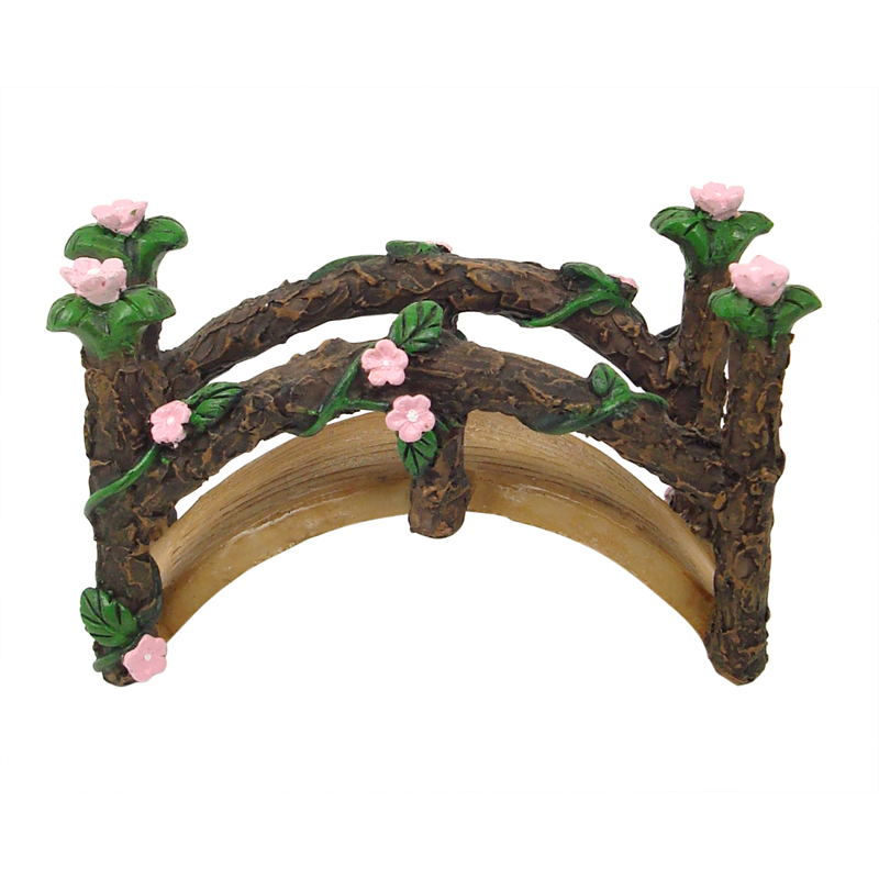 Fairy Garden Bridge   Set Of 3   With LED Light