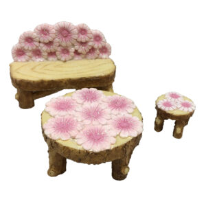 Flower Furniture - Set of 3 - ETA 5/9/17