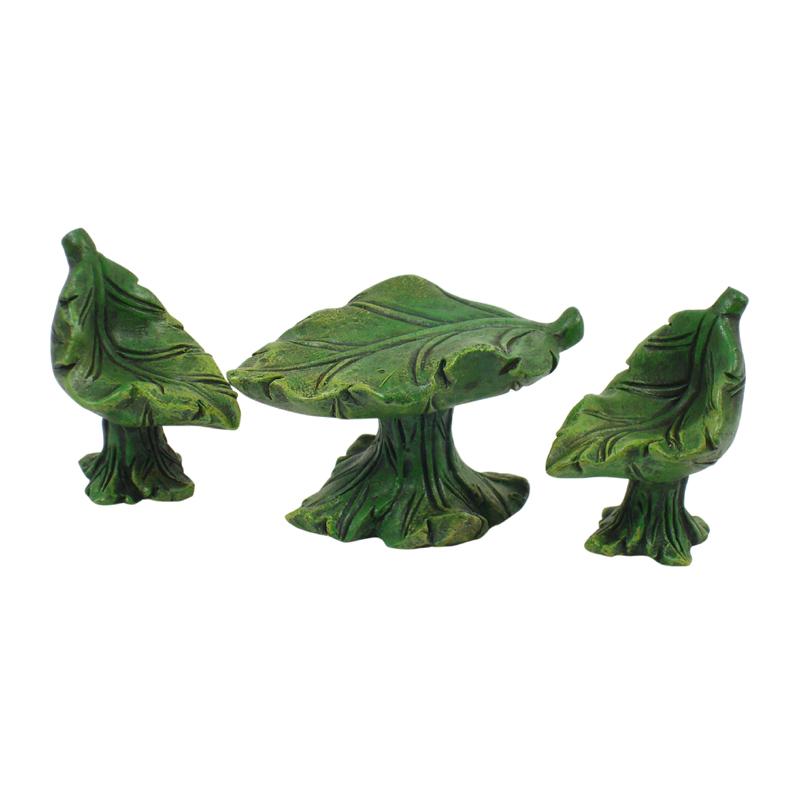 Mini Leaf Furniture - Set of 3