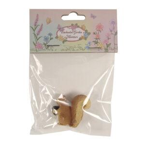 Enchanted Garden Miniatures - Hang-Sell - Squirrel 3cm