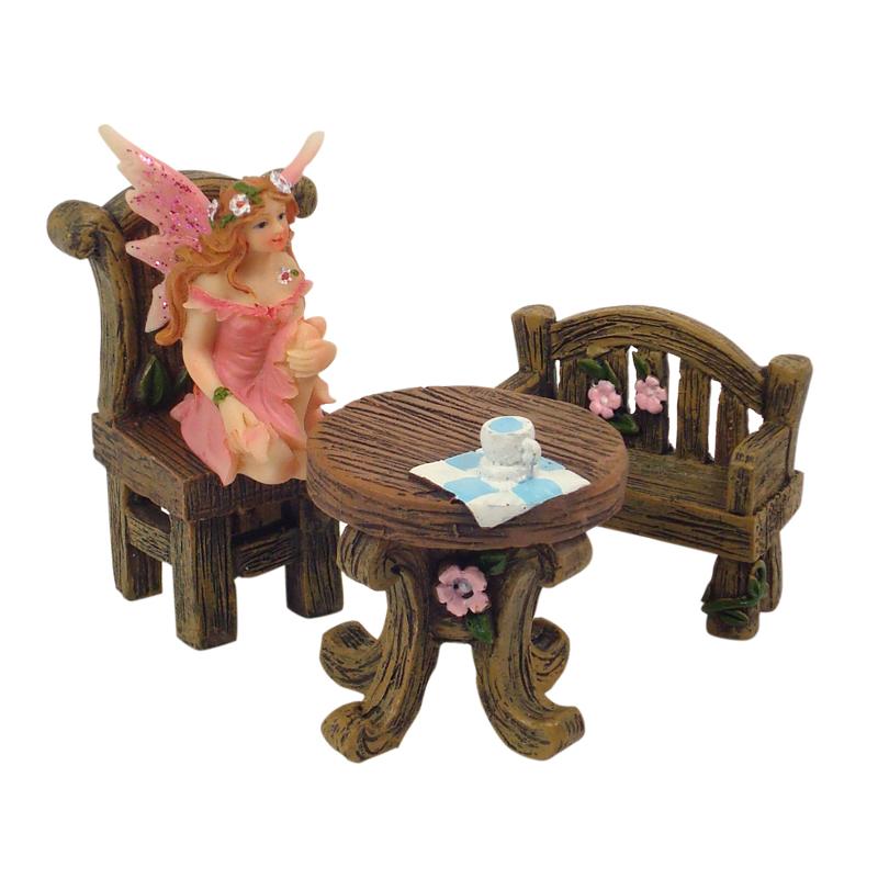 Enchanted Garden Miniatures - Hang-Sell - Chair 5cm