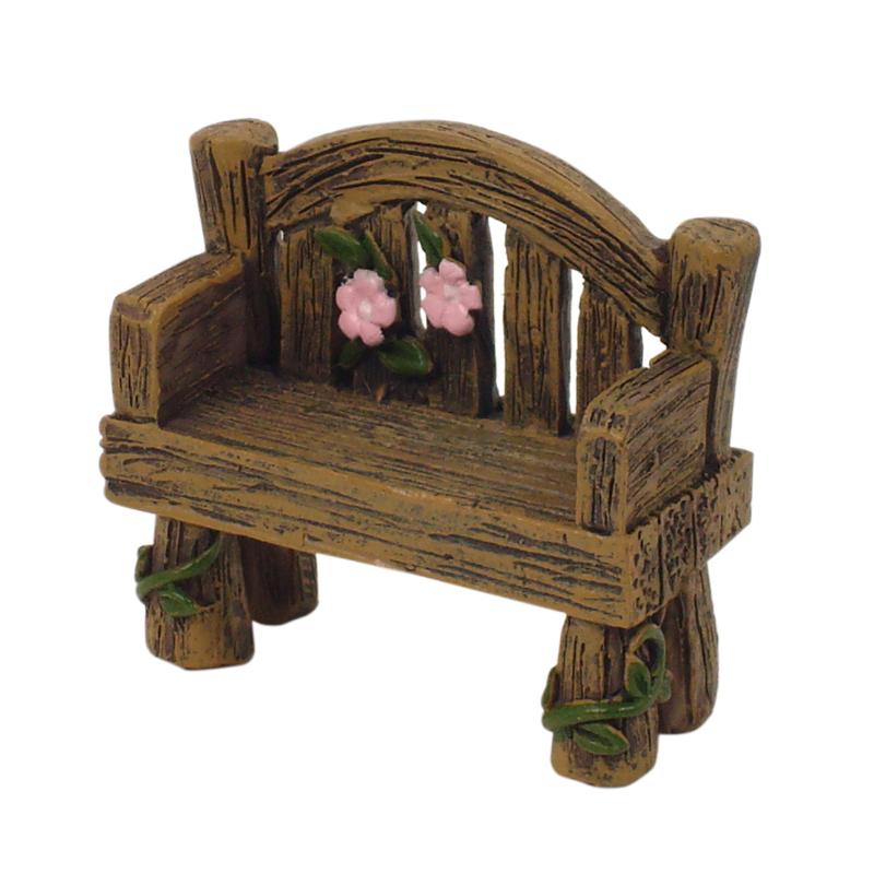 Enchanted Garden Miniatures - Hang-Sell - Bench Seat 4cm