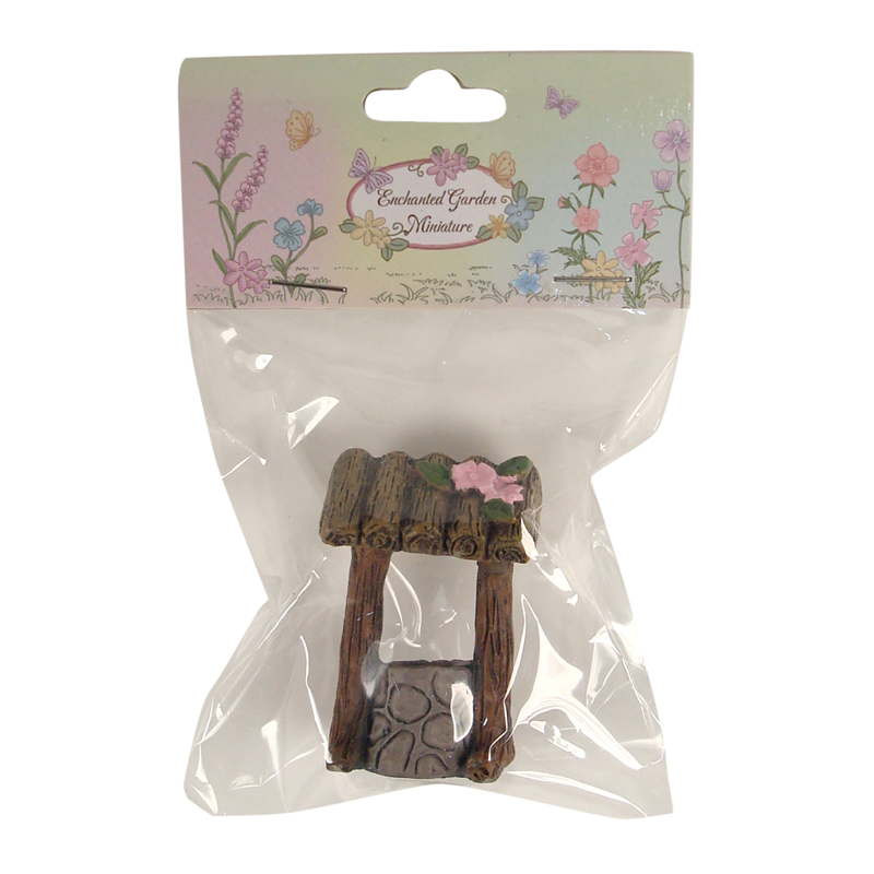 Enchanted Garden Miniatures - Hang-Sell - Wishing Well 5cm