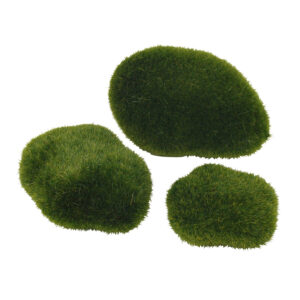 Fairy Garden Moss Rocks - Pack of 8