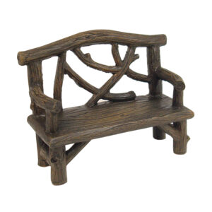 Rustic Log Bench Seat 10cmL - ETA 3/10/15