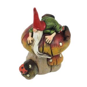 Garden Gnome on Mushroom - Restock ETA 5/9/17