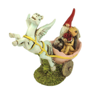 Garden Gnome with Pegasus