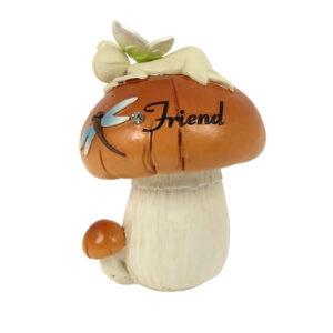 Nature Fairies - Fairy on Mushroom: Friend