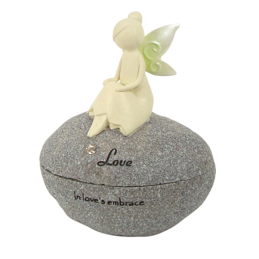 Nature Fairies - Fairy Rock Trinket Box: Love