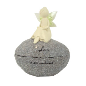 Nature Fairies - Fairy Rock Trinket Box: Love