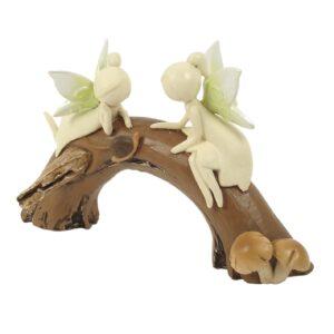 Nature Fairies - Fairies on Log Arch