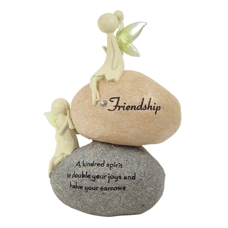 Nature Fairies - Fairies on Rocks: Friendship