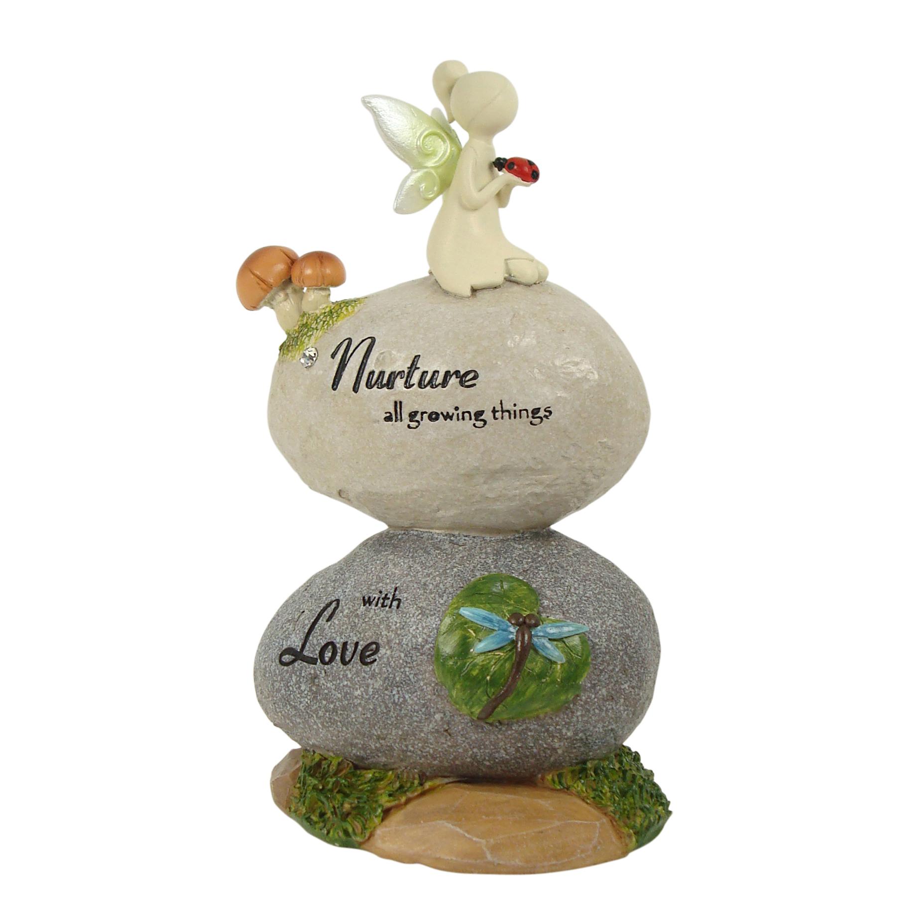 Nature Fairies - Fairy on Rocks: Nurture