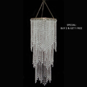 Chandelier - Cascading 68cm