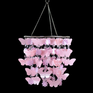 Chandelier - PVC Flower & Butterfly