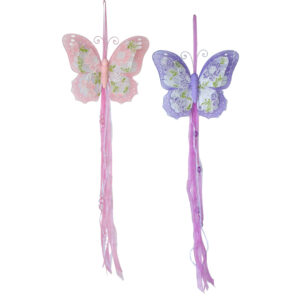 Hanging Decoration - Floral Lace Butterfly