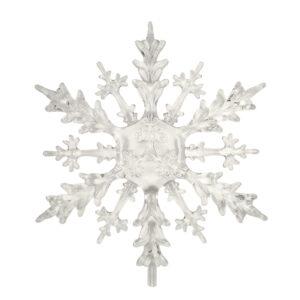 Snowflake Hanging Acrylic Decoration - 15cm