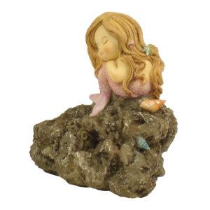 Mermaid Sleeping on Rock - Large