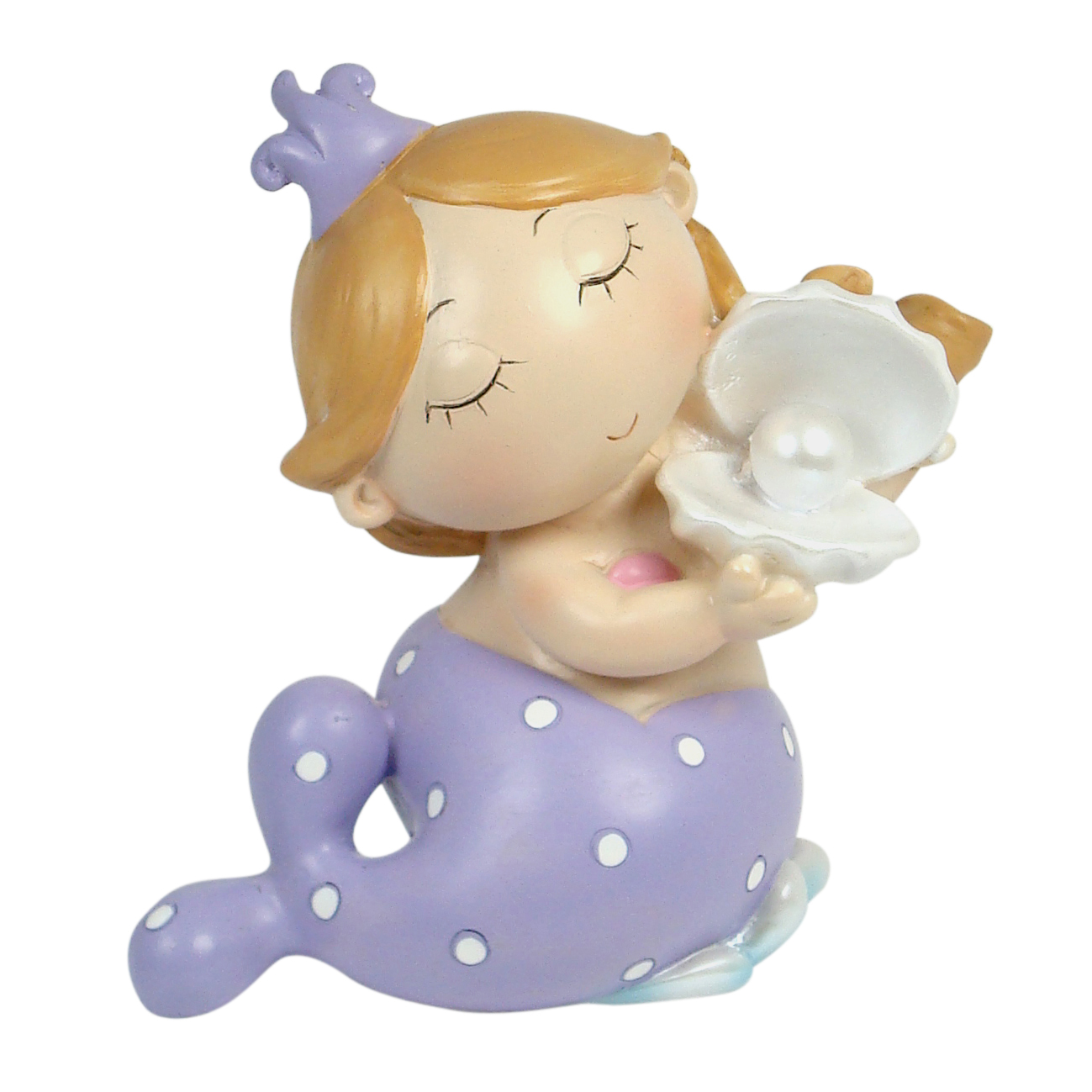 Mermaid with Pearl Shell 13cm