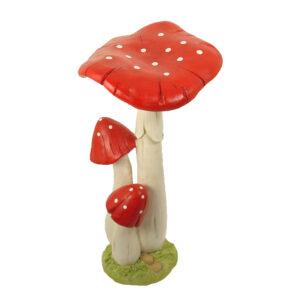 Mushroom Triple - Red 30cm - ETA 7/11/17