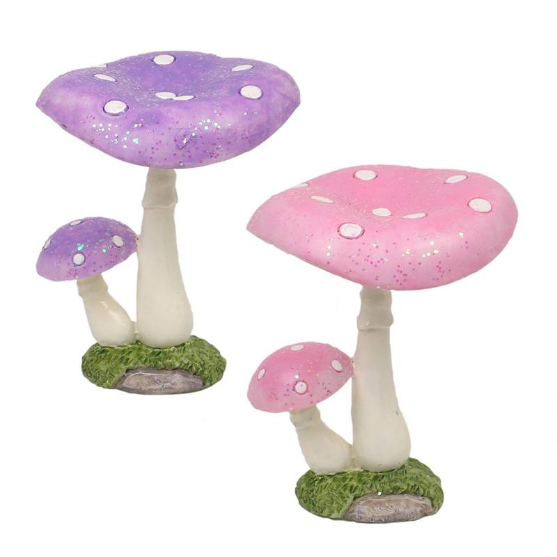 Forest Mushroom 8cm - Pink/Lilac Assorted - ETA 5/9/17