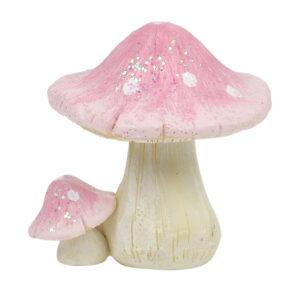 Mushroom - Glitter 5cm - Pink & Lilac - Restock ETA 5/9/17