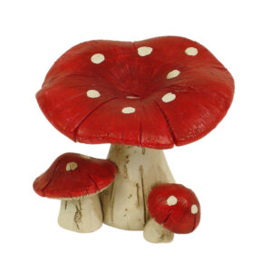 Mushroom 5cm - Red