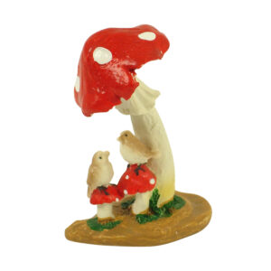 Mushroom with Birds - 7.5cm
