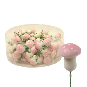 Mushroom Stem - Small - Light Pink - Box of 100