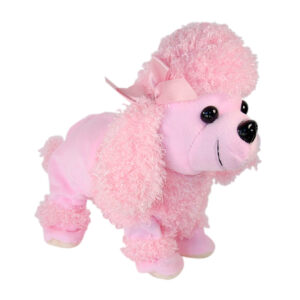 Sound Activated Animated Poodle - Pink Only