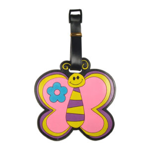 PU Novelty Luggage Tag