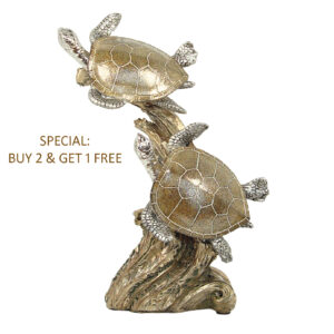 Sea Life Decor - Sea Turtle Twin 21cm