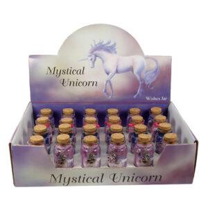 Mystical Unicorn Wishes Jar w/Charm