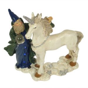 Wizard with Unicorn 10cm - ETA 5/9/17